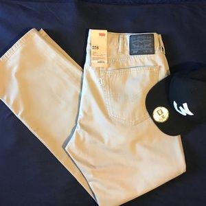 NWT Levi's khaki jeans ( cap not incl.)